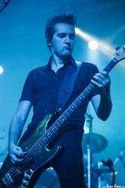 Jacinto Ríos, bajista de 091 (Santana 27, Bilbao, 2016)