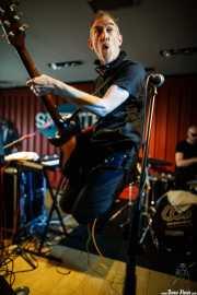 Jim Brady, guitarrista de The Rezillos (Satélite T, Bilbao, 2016)