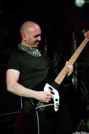 Chris Agnew, bajista de The Rezillos (Satélite T, Bilbao, 2016)