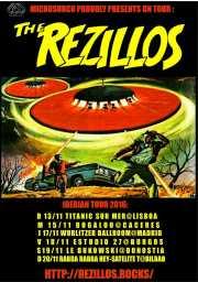 Cartel de The Rezillos (Satélite T, Bilbao, )