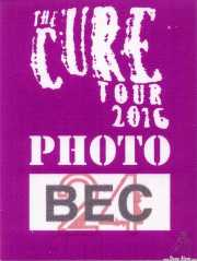 PhotoPass de The Cure (Bilbao Exhibition Centre (BEC), Barakaldo, )