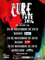 Cartel de The Cure (Bilbao Exhibition Centre (BEC), Barakaldo, )