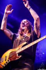 Matt Johnson, bajista de Leogun (Santana 27, Bilbao, 2016)