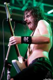 Joel O'Keeffe, cantante y guitarrista de Airbourne (Santana 27, Bilbao, 2016)