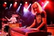 Toño Segura -teclado- y Sam Malakiam -batería- de Buffalo (Purple Weekend Festival, León, 2016)