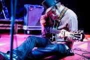 Richard Olson, cantante y guitarrista de The Hanging Stars (Purple Weekend Festival, León, 2016)