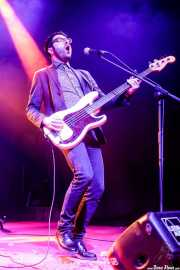 Mattia Baretta, bajista de Radio Days (Purple Weekend Festival, León, 2016)
