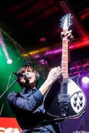 Dario Persi, cantante y guitarrista de Radio Days (Purple Weekend Festival, León, 2016)