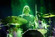 Gerrit Scholten, baterista de Mark & The Spies (Purple Weekend Festival, León, 2016)