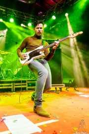Mark Wesseloo, bajista y cantante de Mark & The Spies (Purple Weekend Festival, León, 2016)