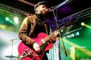 Arjan Spies, cantante y guitarrista de Mark & The Spies (Purple Weekend Festival, León, 2016)