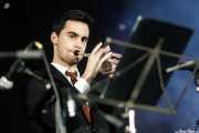 Bruno Rocha, trompetista de Gizzelle & TT Syndicate (Purple Weekend Festival, León, 2016)