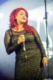 Gizzelle, cantante de Gizelle & TT Syndicate (Purple Weekend Festival, León, 2016)