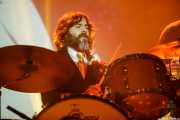 Lázaro Anasagasti, baterista en el Homenaje a The Concert for Bangladesh. George Harrison (Santana 27, Bilbao, 2016)