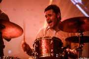 Natxo Beltrán, baterista en el Homenaje a The Concert for Bangladesh. George Harrison (Santana 27, Bilbao, 2016)