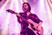 Iñigo Coppel, cantante, guitarrista y armonicista en el Homenaje a The Concert for Bangladesh. George Harrison (Santana 27, Bilbao, 2016)
