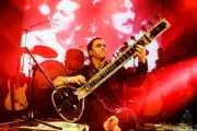 Gorka Huarte Yoldi, sitar en el Homenaje a The Concert for Bangladesh. George Harrison (Santana 27, Bilbao, 2016)