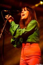 Sara Íñiguez, cantante en el Homenaje a The Concert for Bangladesh. George Harrison (Santana 27, Bilbao, 2016)