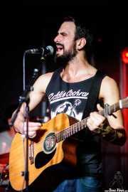 """Guillermo Santibáñez """"Will"""", guitarrista y cantante de Mud Candies (La Ribera, Bilbao, 2017)"""