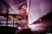 Albin Linder, baterista de Jetbone (Kafe Antzokia, Bilbao, 2017)