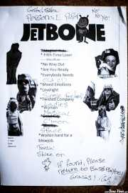 Setlist de Jetbone (Kafe Antzokia, Bilbao, 2017)