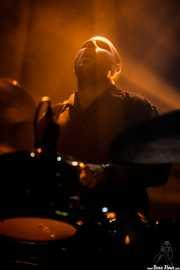 Galder Creo, baterista de Cavaliere (Kafe Antzokia, Bilbao, 2017)