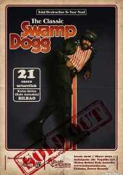 Cartel de Swamp Dogg (Kafe Antzokia, Bilbao, )