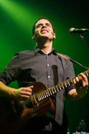 Jairo Zavala, cantante y guitarrista de Depedro (Kafe Antzokia, Bilbao, 2017)