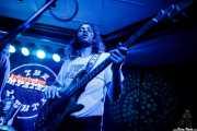 Zach Butler -batería- y Alex Amini -bajo- de The Mystery Lights (Kafe Antzokia, Bilbao, 2017)