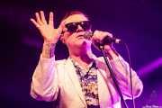 Spike Slawson, cantante de Me First and The Gimme Gimmes (Santana 27, Bilbao, 2017)