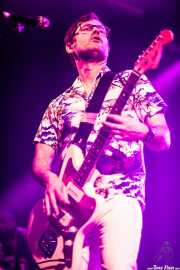 Joey Cape, guitarrista de Me First and The Gimme Gimmes (Santana 27, Bilbao, 2017)