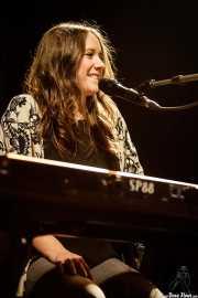 """Carolina de Juan """"Nina"""", cantante y pianista de Morgan (Kafe Antzokia, Bilbao, 2017)"""