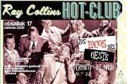 Entrada de Ray Collins' Hot Club y Los locos del oeste (Kafe Antzokia, Bilbao, )
