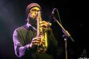 Charles Cooper, saxofonista de Berta Bittersweet (Kafe Antzokia, Bilbao, 2017)