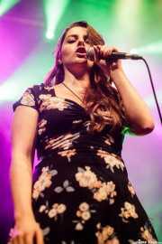 inés Goñi, cantante de Mississippi Queen & The Wet Dogs (Kafe Antzokia, Bilbao, 2017)