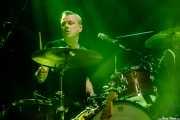Francis MacDonald, baterista de Teenage Fanclub (Kafe Antzokia, Bilbao, 2017)