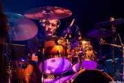 Antton Farri, baterista de The Associados (Kafe Antzokia, Bilbao, 2017)