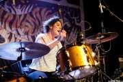Virginia Fernández, baterista de Last Fair Deal (Iparragirre, Gernika, 2017)