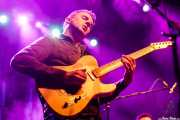 Mike Molnar, guitarrista de The Bellfuries (Kafe Antzokia, Bilbao, 2017)