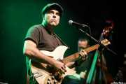 Joey Simeone, cantante y guitarrista de The Bellfuries (Kafe Antzokia, Bilbao, 2017)