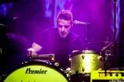 "Matteo Monti ""Teo"", baterista de Don Antonio (Kafe Antzokia, Bilbao, 2017)"