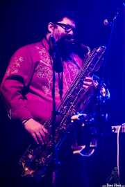 "Francesco Valtieri ""Franz"", saxofónista y teclista de Don Antonio (Kafe Antzokia, Bilbao, 2017)"