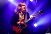 Rickard Nygren, teclista y guitarrista en gira de Blues Pills (Santana 27, Bilbao, 2017)