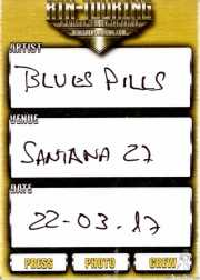 PhotoPass de Blues Pills (Santana 27, Bilbao, 2017)