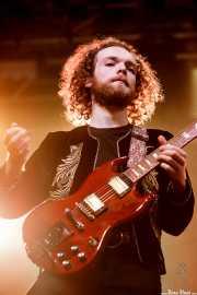 Dorian Sorriaux, guitarrista de Blues Pills (Santana 27, Bilbao, 2017)