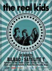 Cartel de The Real Kids (Satélite T, Bilbao, )