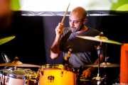 David Peñalba, baterista de Norman (Hika Ateneo, Bilbao, 2017)