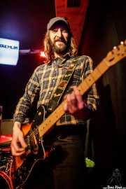 Luis Ibáñez, guitarrista de The Pulsebeats (Kremlin Aretoa, Bilbao, 2017)