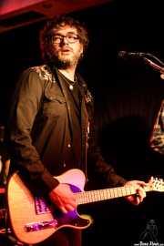 Nathan Whittle, cantante y guitarrista de The Pulsebeats (Kremlin Aretoa, Bilbao, 2017)