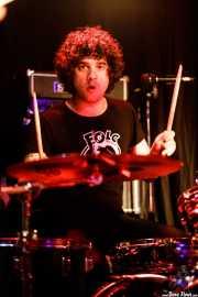 Ral García, baterista de The Pulsebeats (Kremlin Aretoa, Bilbao, 2017)